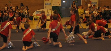 Fantastic Performance at Gymnastics and Cheerleading Festival.